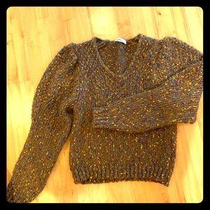 Zara balloon sleeve sweater